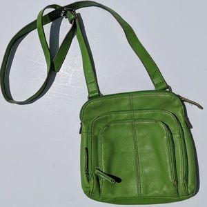 GUC Apple Green Tignanello Crossbody Bag